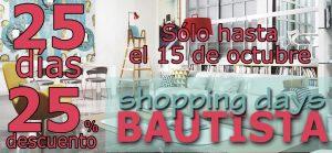 slider shopping days septiembre 2017
