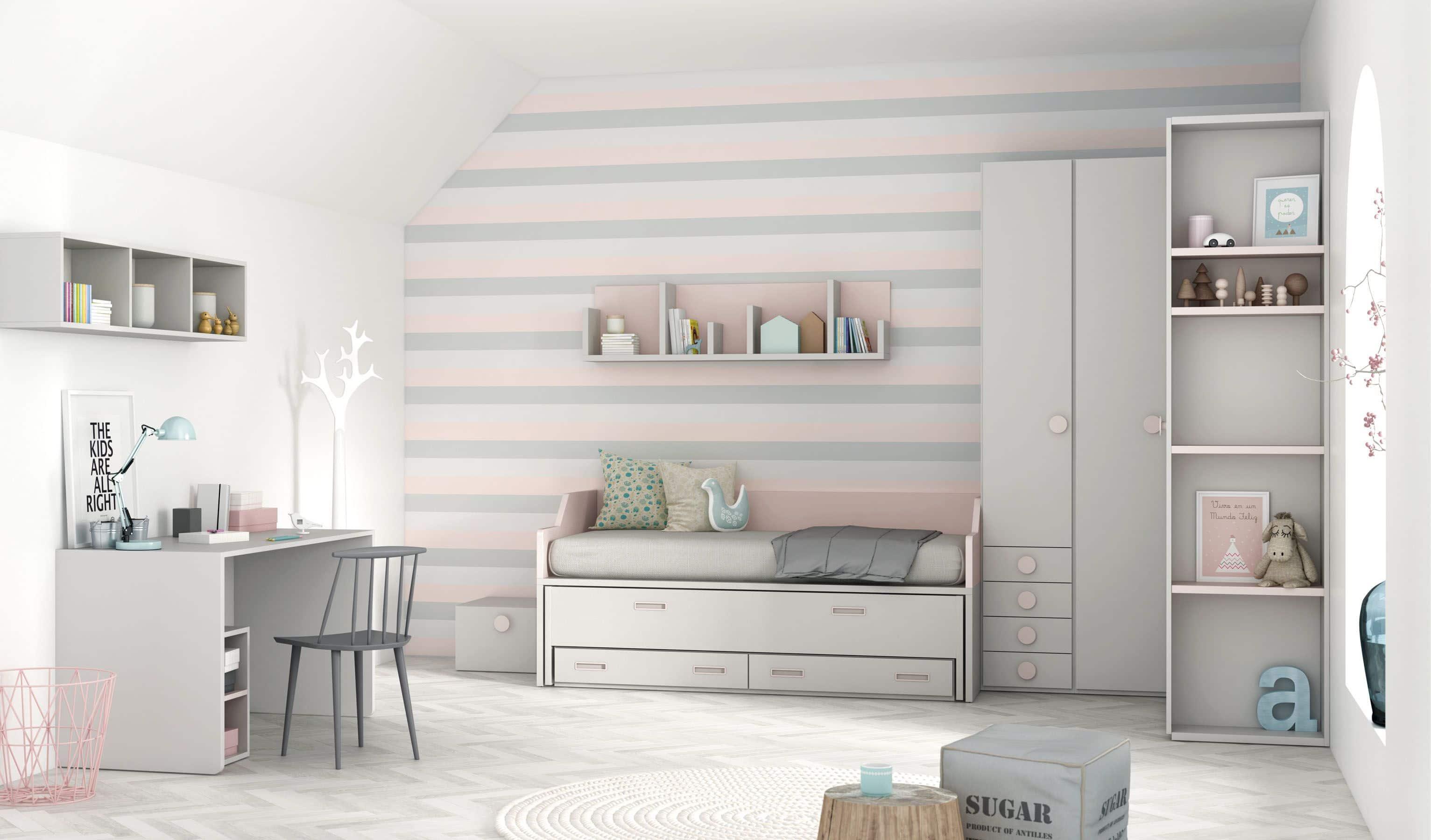 Dormitorio Juvenil Elegance Bautista Muebles Y Decoraci N # Muebles Bautista
