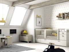 Dormitorio Juvenil Convertible Twins
