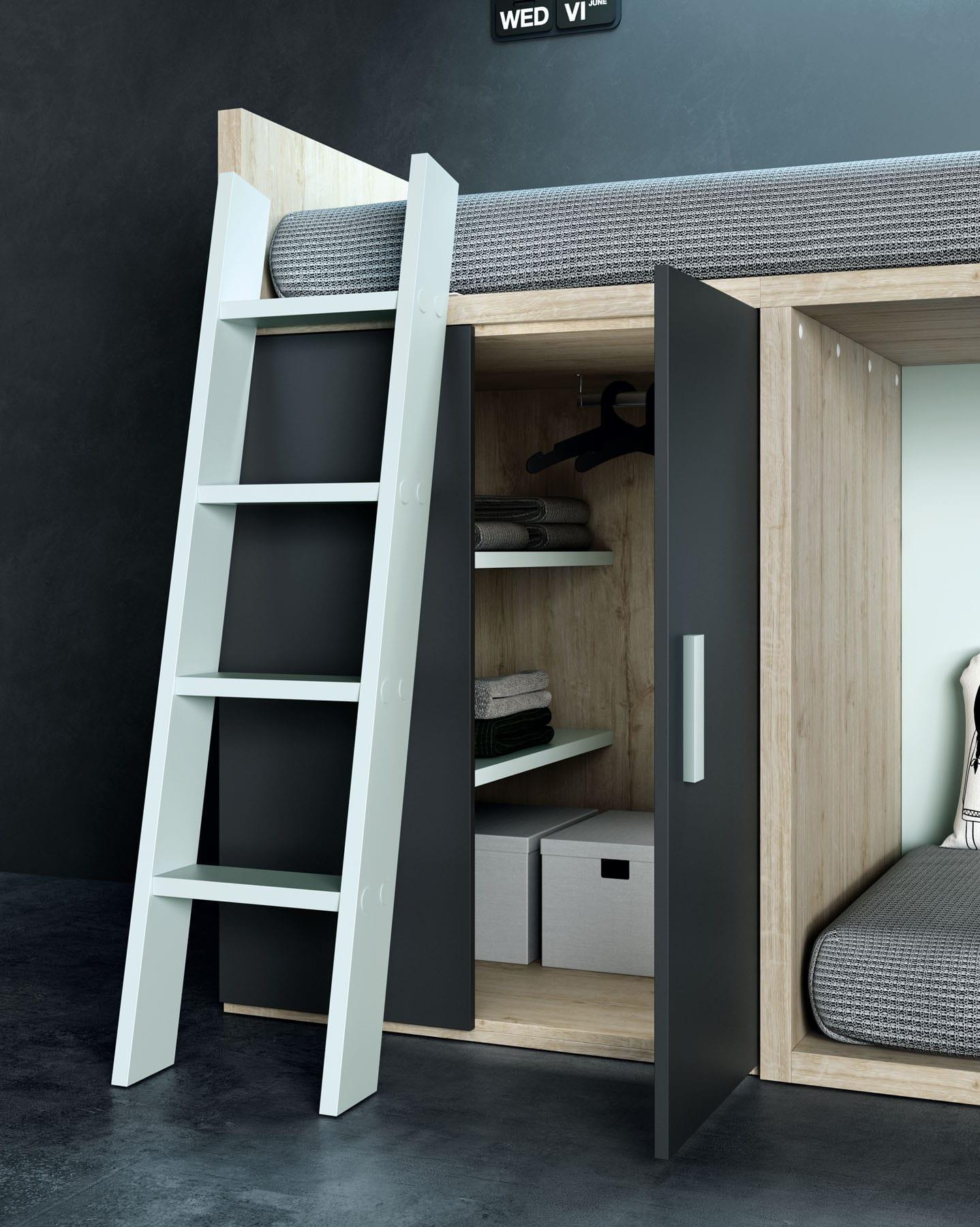 Dormitorio juvenil dado bautista muebles y decoraci n for Muebles bautista abadino