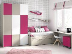 Dormitorio Juvenil Tricolor