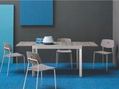 Mesa de cocina extensible Plano
