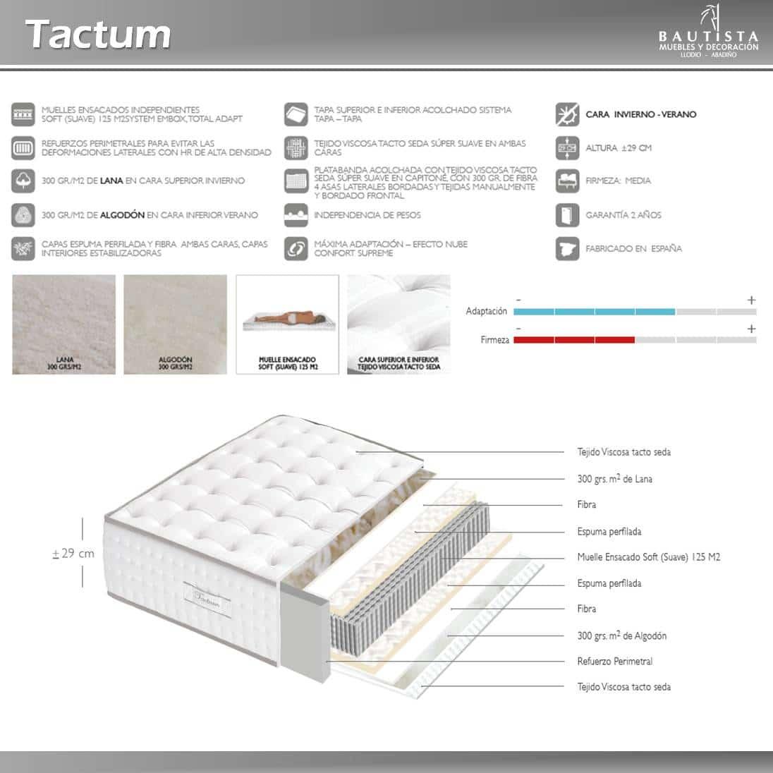 Colchón Tactum