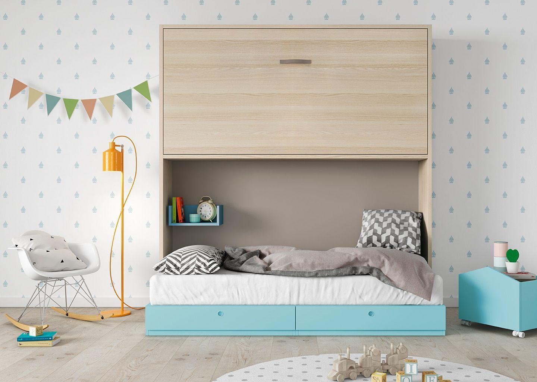 Litera abatible origami bautista muebles y decoraci n for Bautista muebles y decoracion