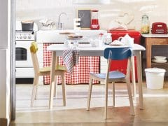 Mesa de cocina extensible Cream