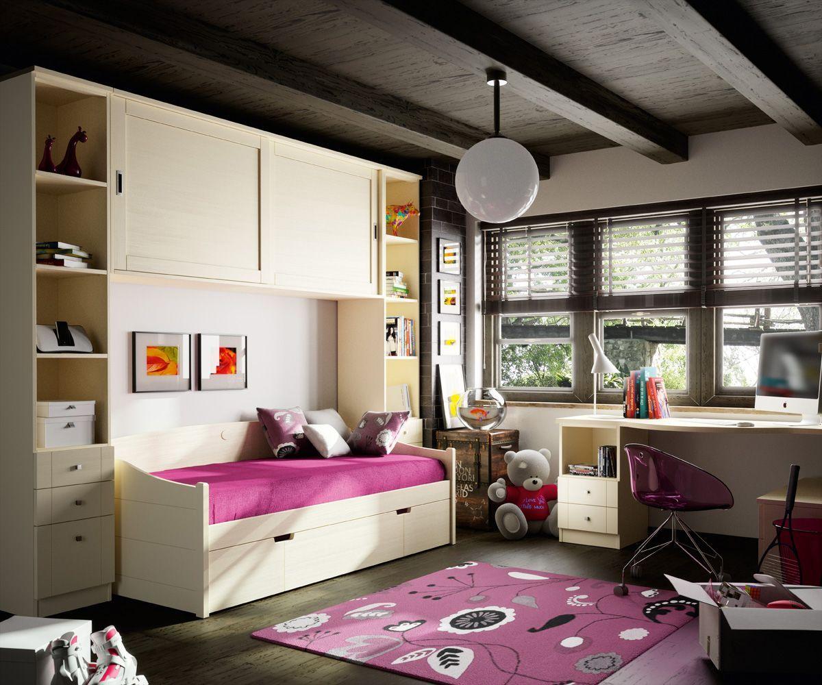 Dormitorio juvenil seys 06 bautista muebles y decoraci n for Bautista muebles y decoracion