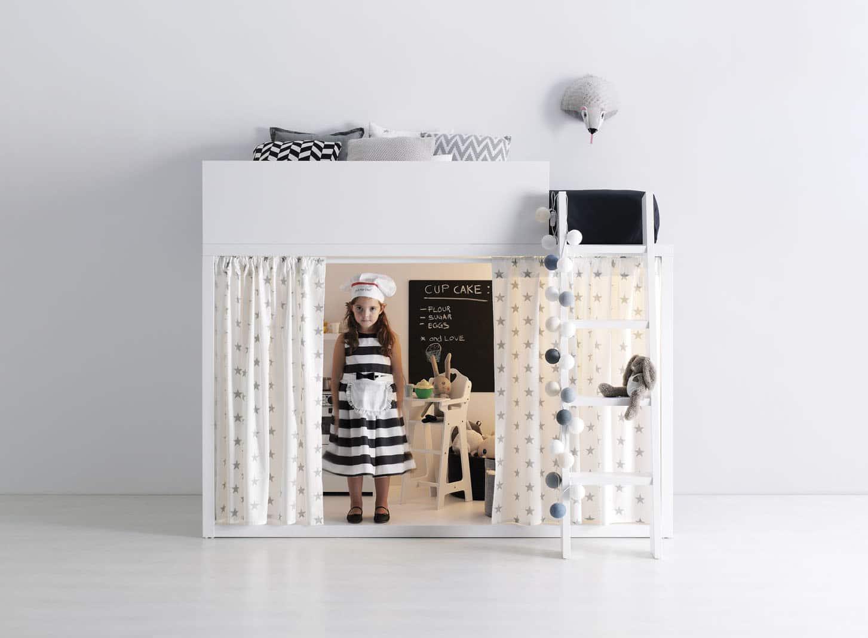 Dormitorio juvenil dado 01 bautista muebles y decoraci n for Muebles llodio
