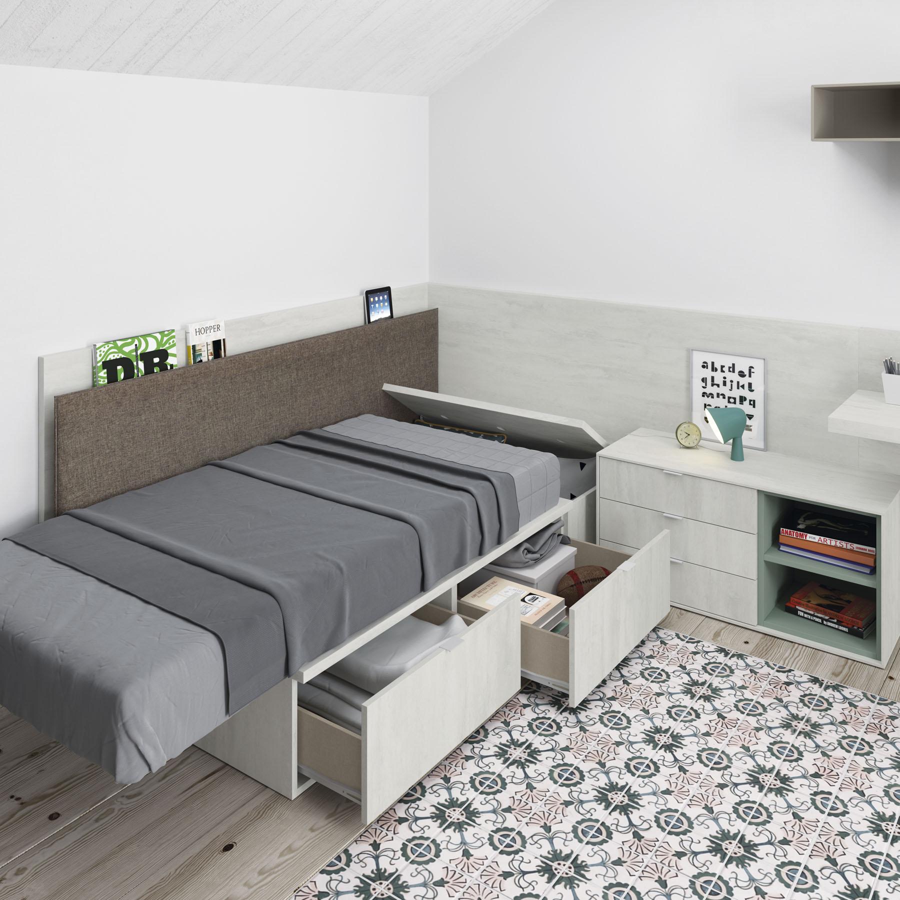 Dormitorio juvenil next 01 bautista muebles y decoraci n for Bautista muebles y decoracion