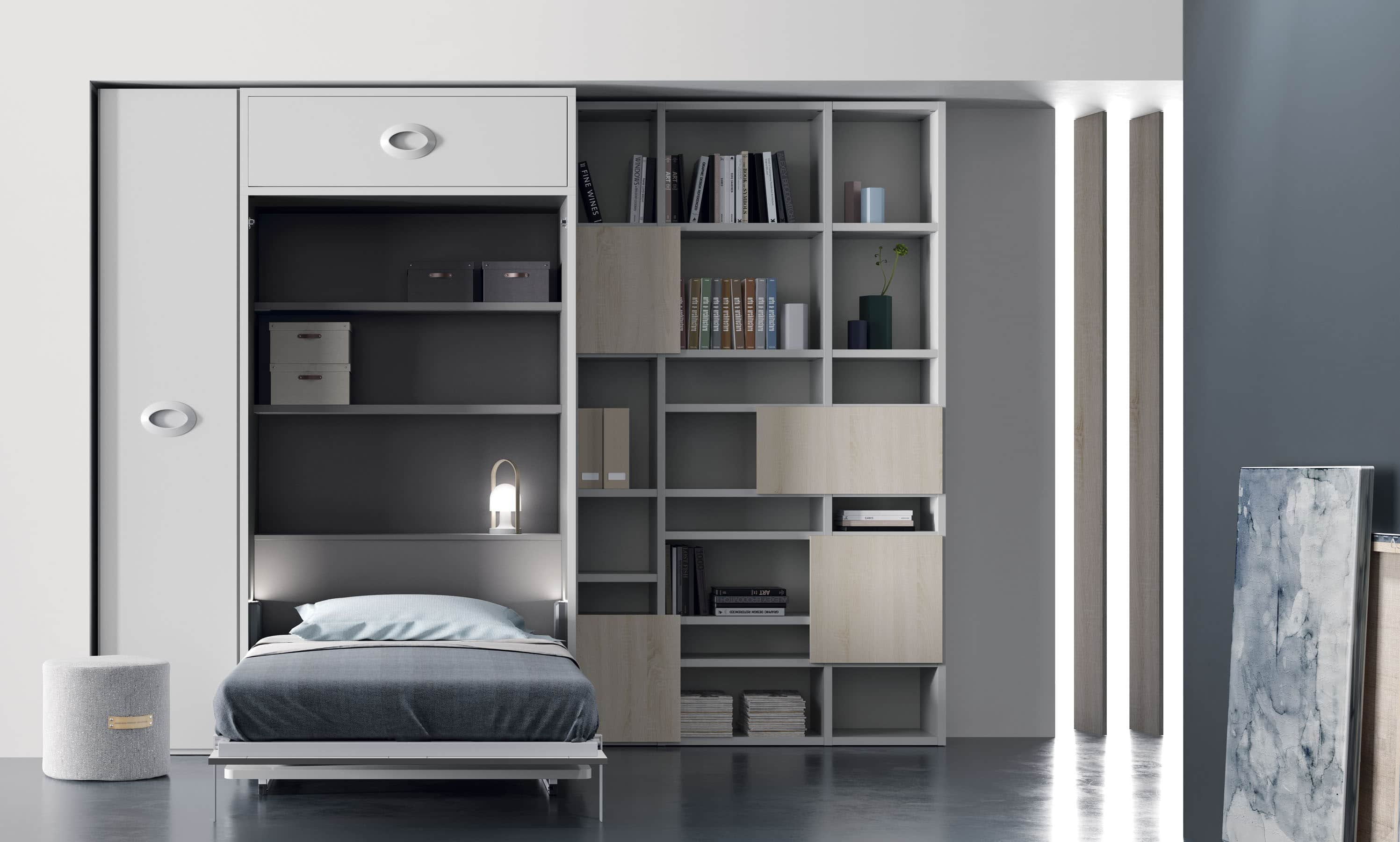 Cama abatible next 02 bautista muebles y decoraci n for Muebles bautista abadino