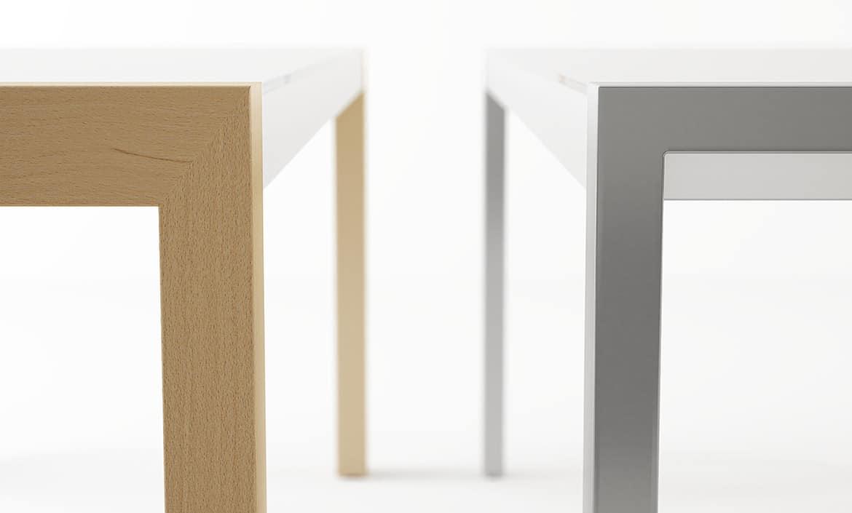Mesas de cocina extensibles elegant mesas de cocina - Mesa de cocina extensible cancio concept blanco ...