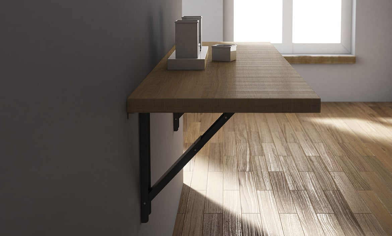 Mesa abatible vulcano bautista muebles y decoraci n for Mesas para cocinas estrechas