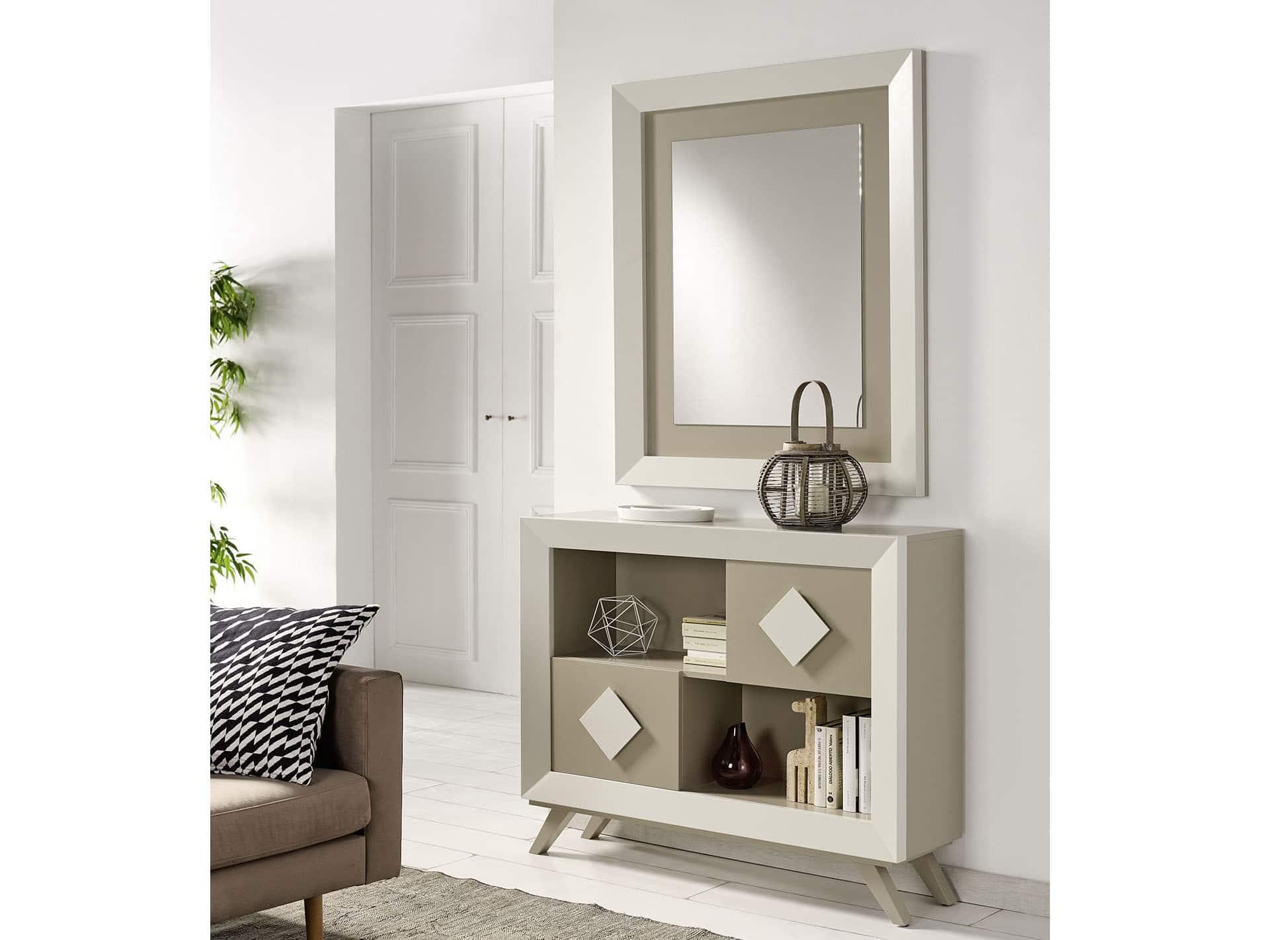 Recibidor cloe 05 bautista muebles y decoraci n - Muebles de entrada pequenos ...