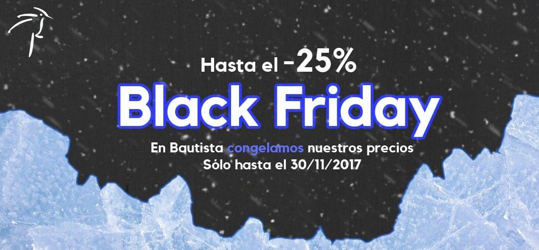 ¡Black Friday en Bautista Muebles y Decoración!