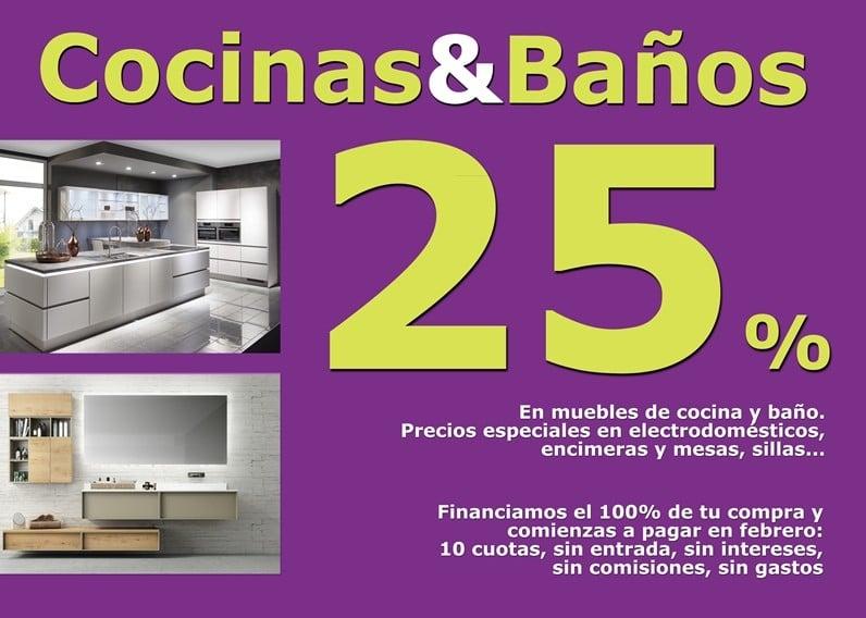 Campa a cocinas y ba os bautista muebles y decoraci n for Muebles llodio